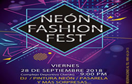 Neón Fashion Fest en Mérida