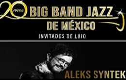 Aleks Syntek y Big BAND JAZZ de México en Cuernavaca